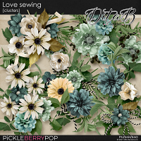 Love sewing - clusters