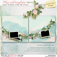 Play With Templates Vol.16 (Jasmin-Olya Designs)