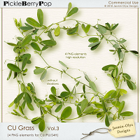 CU Grass Vol.3 - peas (Jasmin-Olya Designs)