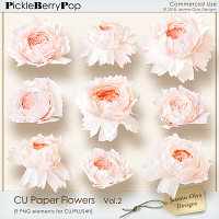 CU Paper Flowers Vol.2 (Jasmin-Olya Designs)