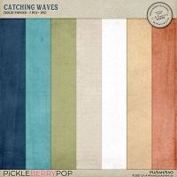Catching Waves Solid Papers
