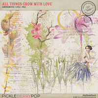 All Things Grow With Love Adornments