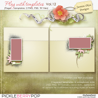 Play With Templates Vol.12 (Jasmin-Olya Designs)