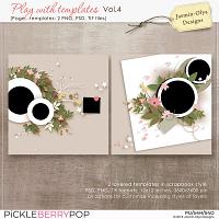 Play With Templates Vol.4 (Jasmin-Olya Designs)
