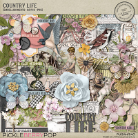 Country Life Embellishments
