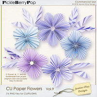 CU Paper Flowers Vol.9 (Jasmin-Olya Designs)