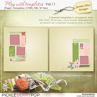 Play With Templates Vol.11 (Jasmin-Olya Designs)