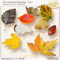CU Autumn Leaves Vol.7 (Jasmin-Olya Designs)