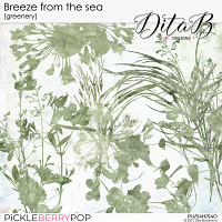 Breeze from the sea - greenery