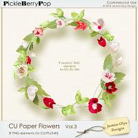 CU Paper Flowers Vol.3 (Jasmin-Olya Designs)