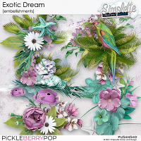 Exotic Dream (embellishments) by Simplette