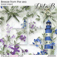 Breeze from the sea - paper edges