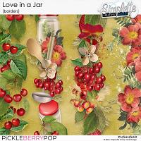 Love in a Jar (borders) by Simplette