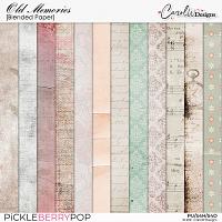 Old Memories-Blended paper