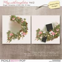 Play With Templates Vol.2 (Jasmin-Olya Designs)