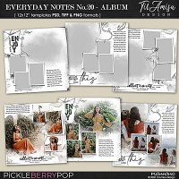 Everyday Notes July No.20 ~ Templates