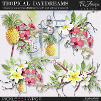 Tropical Daydreams ~ Ready For Use Clusters