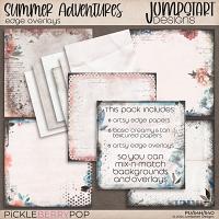 Summer Adventures {Edge Overlays}