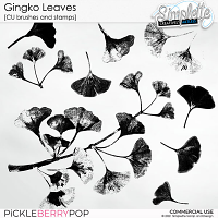 Gingko Leaves (CU stamps and brushes) by Simplette