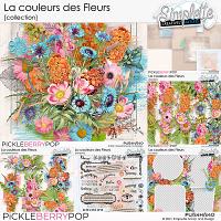 La couleur des Fleurs (collection) by Simplette