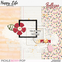HAPPY LIFE | mini kit by Bellisae