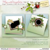 Play With Templates Vol.17 (Jasmin-Olya Designs)