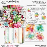 Color outside the lines - bundle