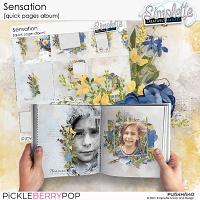 Sensation (quick pages album) by Simplette