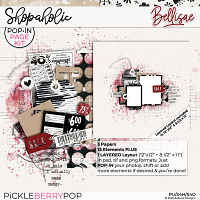 SHOPAHOLIC   POP•iN Page Kit by Bellisae