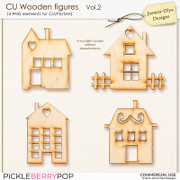 CU Wooden figures Vol.2 (Jasmin-Olya Designs)