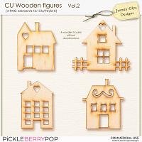 CU Wooden figures Vol.2 (Jasmin-Olya Designs)