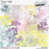 Grow wild (stains) by Simplette