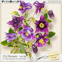 CU Flowers Vol.36 (Jasmin-Olya Designs)