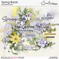 Spring Break-Artsy&Cluster