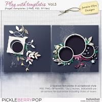 Play With Templates Vol.5 (Jasmin-Olya Designs)