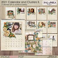 2021 - Calendar and Clusters II.