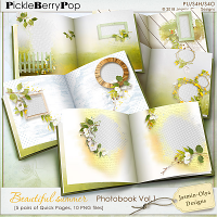 Beautiful summer - Photobook QPs Vol.1 (Jasmin-Olya Designs)