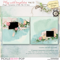 Play With Templates Vol.15 (Jasmin-Olya Designs)