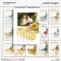 2021 Calendar Quick Pages