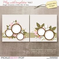 Play With Templates Vol.1 (Jasmin-Olya Designs)
