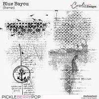 Blue Bayou-Stamp