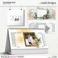 2021 Calendar Desktop Czech