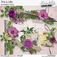 This is Life (embellishments) by Simplette