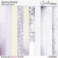 Spring Break-Blended paper