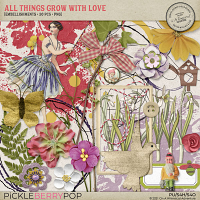All Things Grow With Love Embellishments