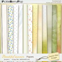 Beautiful summer - Papers (Jasmin-Olya Designs)
