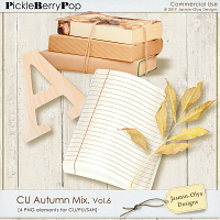 CU Autumn Mix. Vol.6 (Jasmin-Olya Designs)