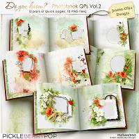 Do you know - Photobook QPs Vol.2 (Jasmin-Olya Designs)