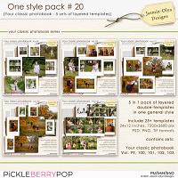 One style pack #20 (Jasmin-Olya Designs)