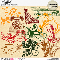 Mulled Splatters & Accents